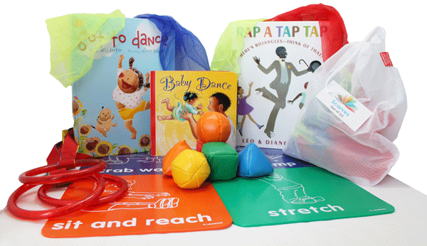 book cover: Creative Movement Wee Play and Learn Activity Box